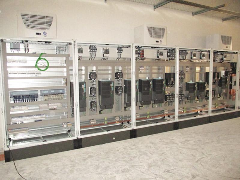 Armario para tratamiento de aire en línea de producción